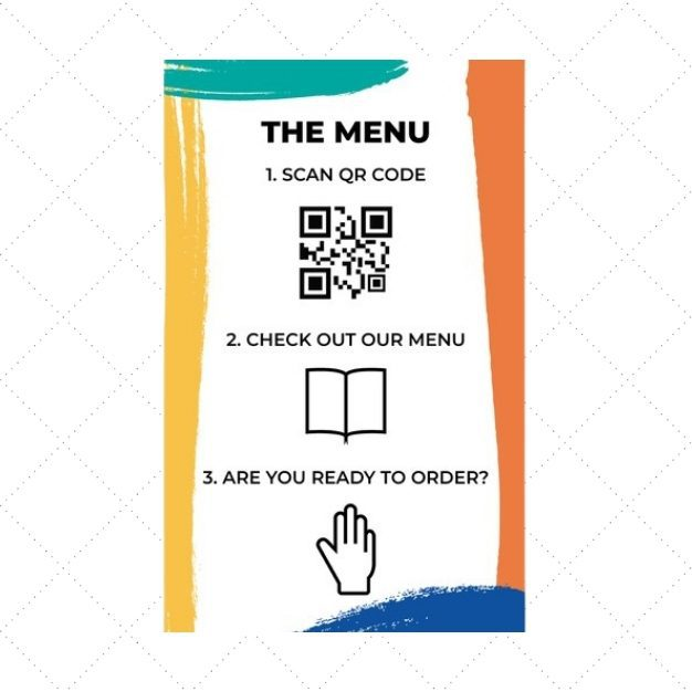 Scan – check out the menu – place order!